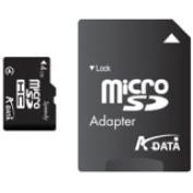 Speedy 4GB microSD High Capacity (microSDHC) Card - Class 4