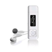 Transcend MP330w MP3 player 8GB  White Recordable FM Radio Built-in microphone voice recorder