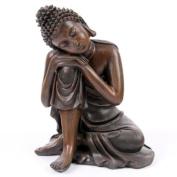 Thai Buddha, Head on Knee