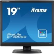 IIYAMA E1980SD-B1 - 19TFT-LCD : LED Backlight : Black Case (ECO Model) (Manufacturer's SKU:E1980SD-B1)'