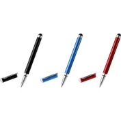 Stylus & Ballpoint Pen - 3 Colour Pack