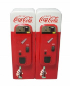 Coca-Cola Ceramic Vending Machine Salt & Pepper Shakers - 4701-04