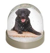 Black Labrador Dog Snow Waterball Christmas Gift, Ref:AD-L86GL