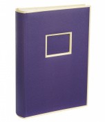 Semikolon Premium Quality 300 Pocket Photo Album - Plum Purple