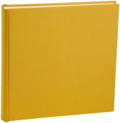 Semikolon Extra Large 130 Page Photo Album - Sun Yellow