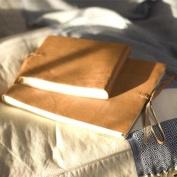 Rustic Leather Photo Album from Nkuku - Medium