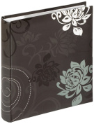 walther design ME-201-B Grindy laminated art paper memo slip-in album, for 200 photos 4.5 x 6.1 inch (11.5 x 15.5 cm), black
