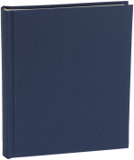 Semikolon Medium 80 Page Photo Album - Marine Blue