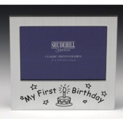 * 'My First Birthday' Photo Frame Gift * Baby's 1st Birthday Picture