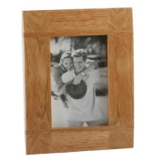Impressions Oak Photo Frame with Cross Batons 20cm x 25cm
