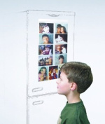 Magnetic Picture Pockets, Picture Frame for 11 Photo's