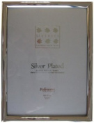 Sixtrees 2-410-68 15cm x 20cm Huntingdon Solid Brass Silver Plated Photo Frame