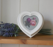 RJB Stone Antique Heart Shaped Photo Frame