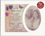 To A Special Grandma - Memory Photo Mount