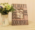 Always Kiss Me... Wood Photo Frame By Heaven Sends