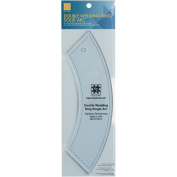 EZ Quilting Double Wedding Ring Single Arc Acrylic Template