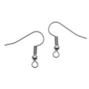 Surgical Steel Earring Hooks Hypo-Allergenic