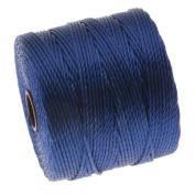 BeadSmith Super-Lon Cord - Size #18 Twisted Nylon - Capri Blue / 77 Yard Spool