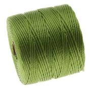 BeadSmith Super-Lon Cord - Size #18 Twisted Nylon - Avocado / 77 Yard Spool
