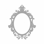 sizzix thinlits frame ornate oval die