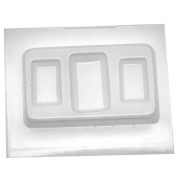 Resin Epoxy Mould For Jewellery Casting - Large And Small Rectangles