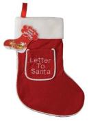 Letter To Santa Children's Christmas Stocking