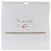Becky Higgins Project Life 30cm x30cm Photo Pocket Pages Design C - Pack of 12