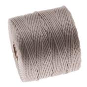 BeadSmith Super-Lon Cord - Size #18 Twisted Nylon - Silver / 77 Yard Spool