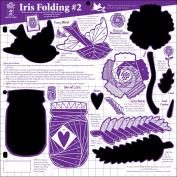 Hot Off The Press Template 30cm x 30cm -Iris Folding #2