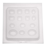 Resin Epoxy Mould For Jewellery Casting - 14 Assorted Jewels