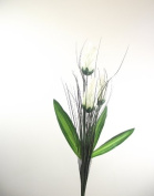 3 Head Torch - Ivory - Artificial Flowers