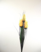 3 Head Torch - Yellow - Artificial Flowers
