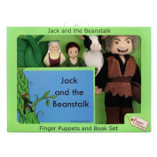 Jack and the Beanstalk Finger Puppet and Book Set [With Book(s)]