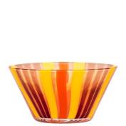 Kosta Boda Cabana Bowl Orange