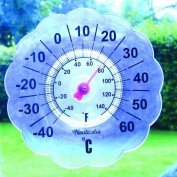 Stick On Window Pane Thermometer