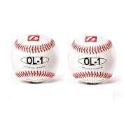 barnett OL-1 competition baseball ball barnett size 23cm white 2 pieces