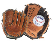 Louisville Slugger Mixed Catch Set - Tan / Black / White, 28cm