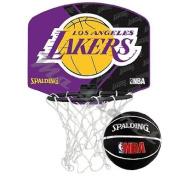 Spalding NBA Team mini basketball set