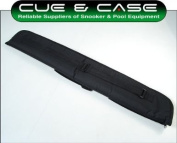Deluxe Thick Padded Soft Cue Case for 2 Piece Cue + Ext