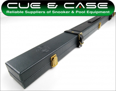 Luxury Riley Burwat 3/4 Leather Effect Snooker Cue Case