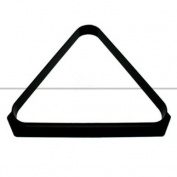 Black Plastic Triangle 38cm x 5.1cm Balls