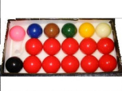 ARAMITH 5.1cm HIGH QUALITY SNOOKER BALLS FOR A POOL TABLE **