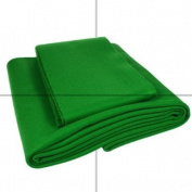 Pool Cloth, 6 x 3 Bed & Cushions, English Green