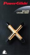 Powerglide Brass Unisex Cross Rest - Brass
