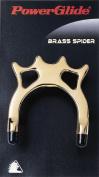 Powerglide Brass Spider Unisex Cue Rest - Brass