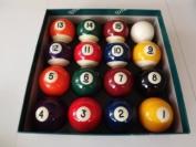 Spots and Stripes 5.1cm Pool Ball Set