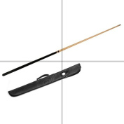 Two Piece 140cm Cue and Soft Case