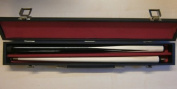 Cue & Case Set -ideal 1st cue for kids youngsters ;0.9m , 90cm 2 piece cue + hard case