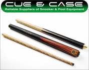 BCE Jimmy White 3pc Junior 120cm Snooker Pool Cue & Case