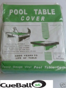 Pool table cover to 1.8m x 0.9m English pool tables